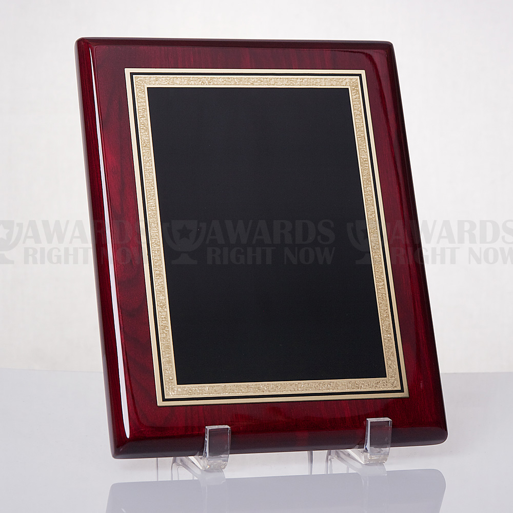 Polished Rosewood Plaque